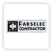 Logo parselec contractor